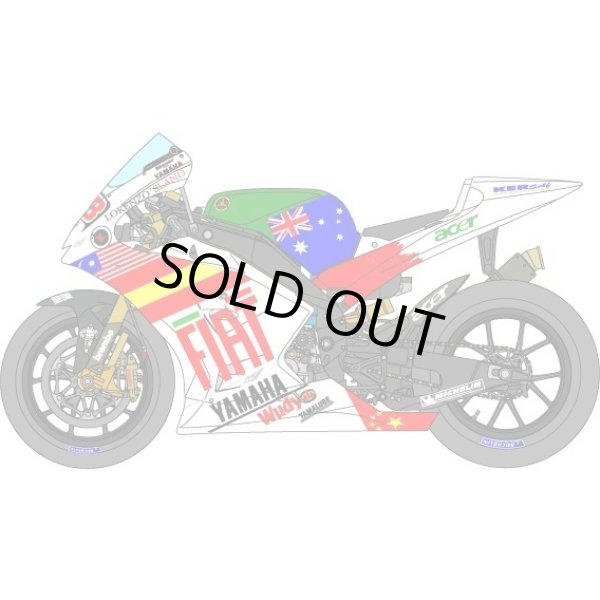 Photo1: 1/12 Yamaha YZR-M1 '08 Valencia GP Decal (1)