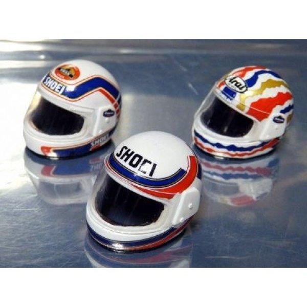 Photo1: 1/12 Honda NSR500 '89 helmet&Tobacco Decal (1)