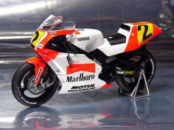Photo1: 1/12 Yamaha YZR500 '90 Tobacco Decal (1)