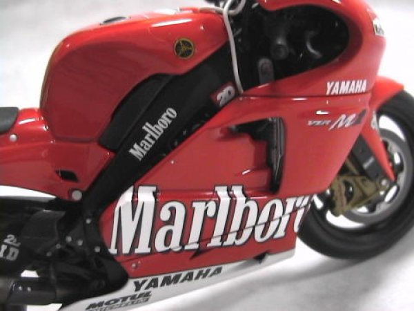 Photo1: 1/12 Yamaha YZR-M1 Tobacco Decal (1)