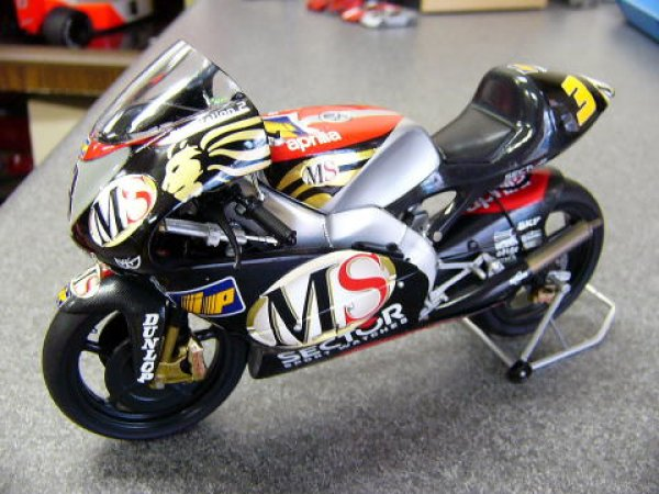 Photo1: 1/12 Aprilia RSV '02 tobacco decal (1)