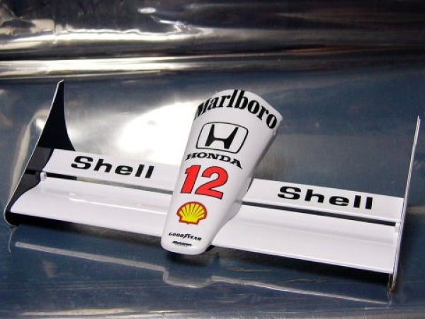 Photo1: 1/8 McLaren MP4/4 Decal for front nose (1)