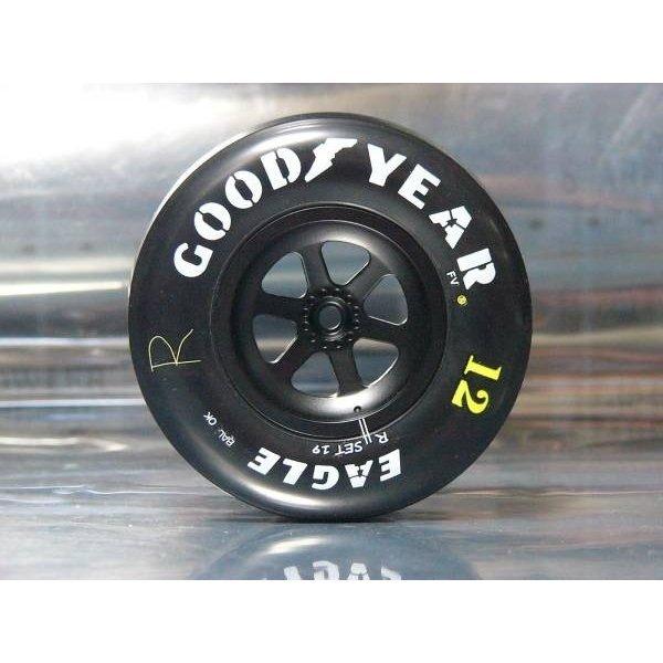 Photo1: 1/8 McLaren MP4/4 tire set decal (1)