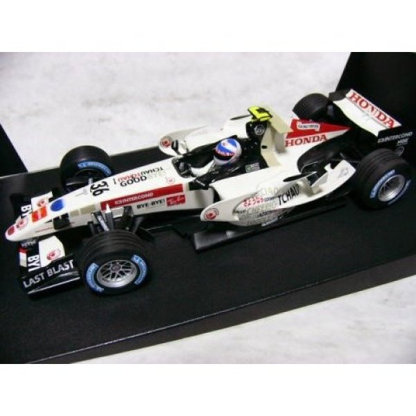 Photo1: 1/18 Honda RA106 Brazil GP Davidson Decal (1)
