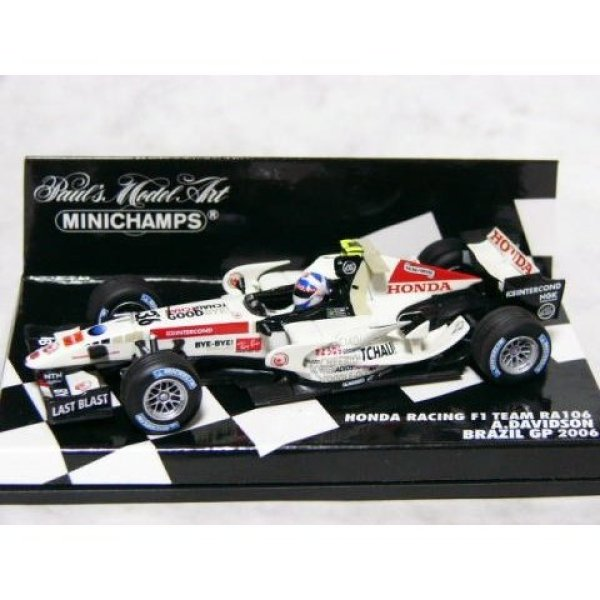 Photo1: 1/43 Honda RA106 Brazil GP Davidson Decal (1)