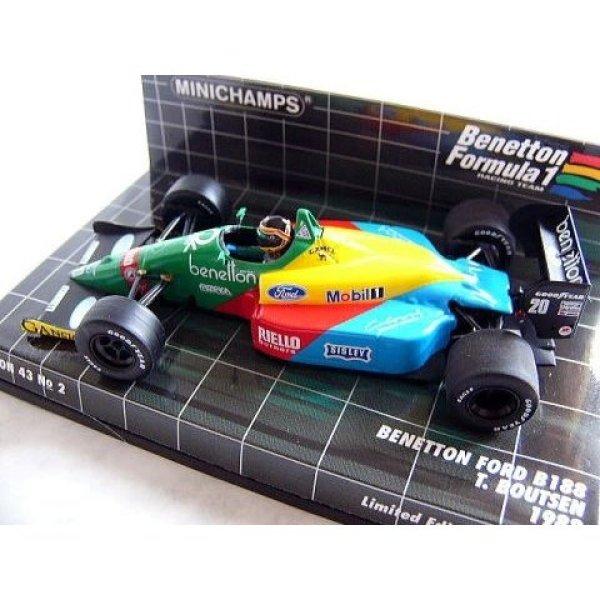 Photo1: 1/43 Benetton B191&B188 Renault R23 '04 Tobacco Decal (1)