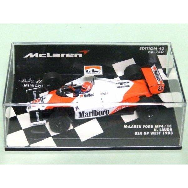Photo1: 1/43 McLaren MP4/1C Tobacco Decal (1)