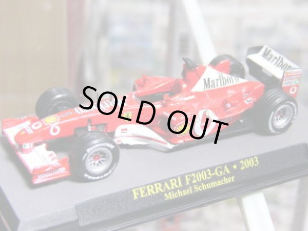 Photo1: 1/43 Ferrari F2001, F2002, F2003GA Tobacco set Decal (1)