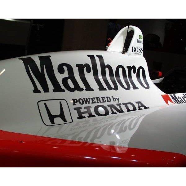 Photo1: 1/8 McLaren MP4/4 Tobacco Decal (1)