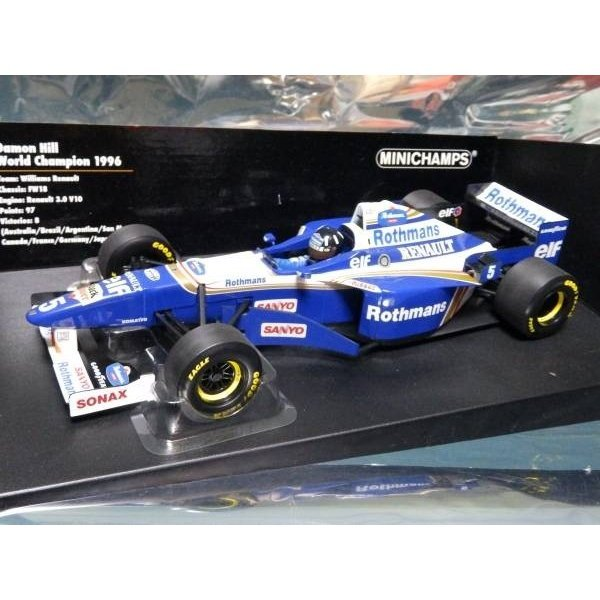 Photo1: 1/18 Williams FW18 Tobacco decal (1)