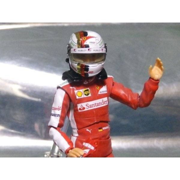 Photo1: 1/12 Figure '15 Vettel Decal (1)