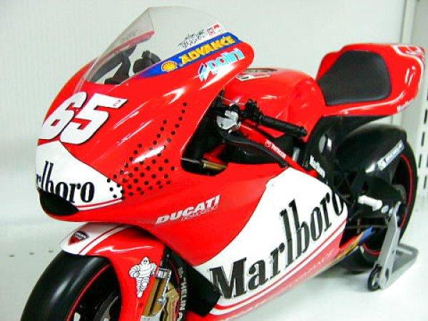 Photo1: 1/6 Ducati Desmosedici Tobacco Decal (1)