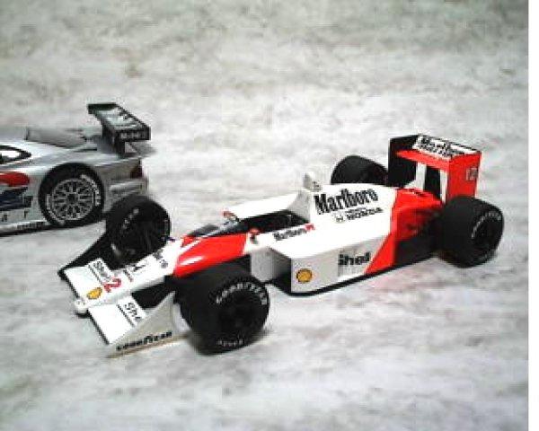 Photo1: 1/12 McLaren MP4/4 Additional Logo Decal (1)