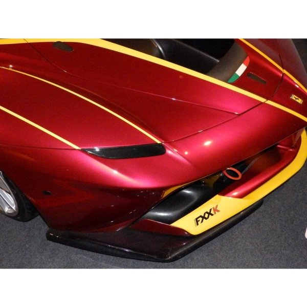 Photo1: 1/24 Ferrari FXX K carbon decal (1)