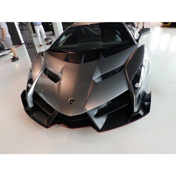 Photo1: 1/24 Lamborghini Veneno Carbon decal (1)