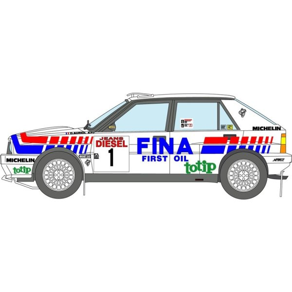 Photo1: 1/24 Lancia delta '91 Sanremo FINA decal (1)