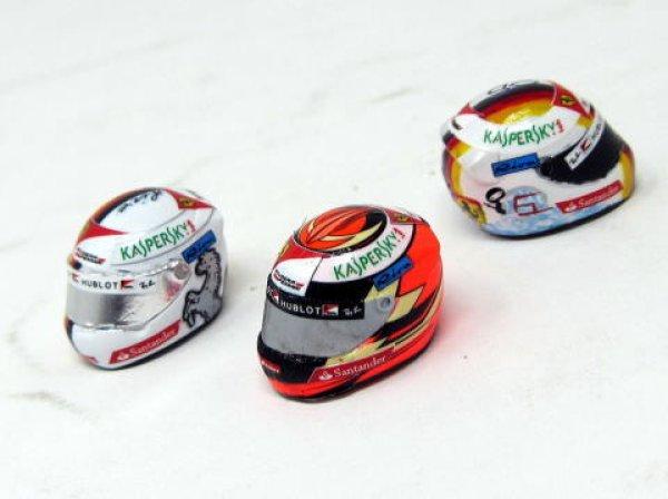 Photo1: 1/20 Ferrari SF70H Logo&Helmet Decal (1)