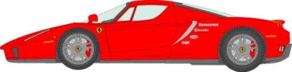 Photo1: 1/24 Ferrari Enzo Nuerburgring decal (1)