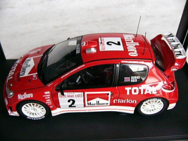 Photo1: Marlboro for 1/18 Peugeot 206 decal (1)