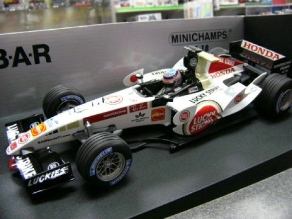 Photo1: 1/18 BAR '05 Show car Japan GP Decal Decal (1)