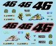 Photo3: 1/12 Yamaha YZR-M1'05 Rossi 50th set Decal (3)