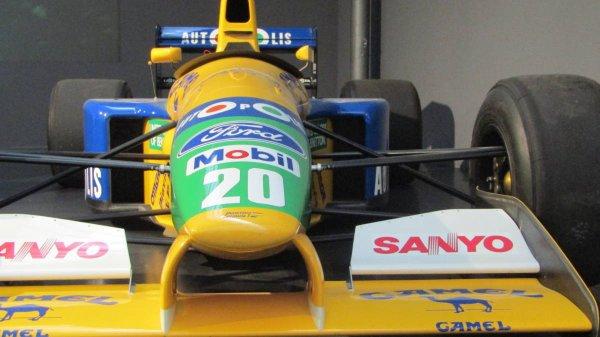 Photo1: 1/20 Benetton B191 decal (1)