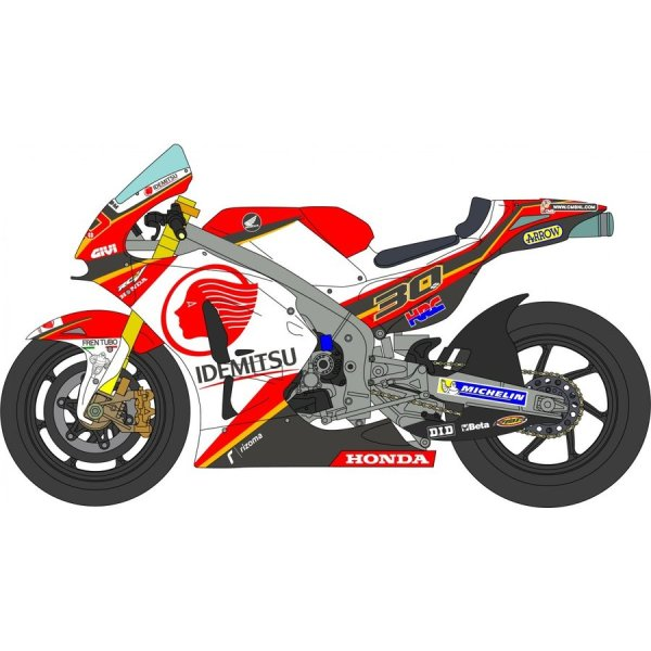 Photo1: 1/12 Honda RC 213 V LCR  Takaaki Nakagami Decal (1)