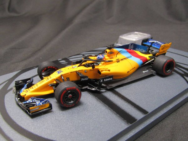 Photo1: 1/43 McLaren MCL33 CHANDON star logo (1)
