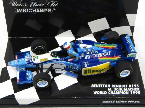 Photo1: 1/43 Benetton B195 Schumacher ver decal (1)
