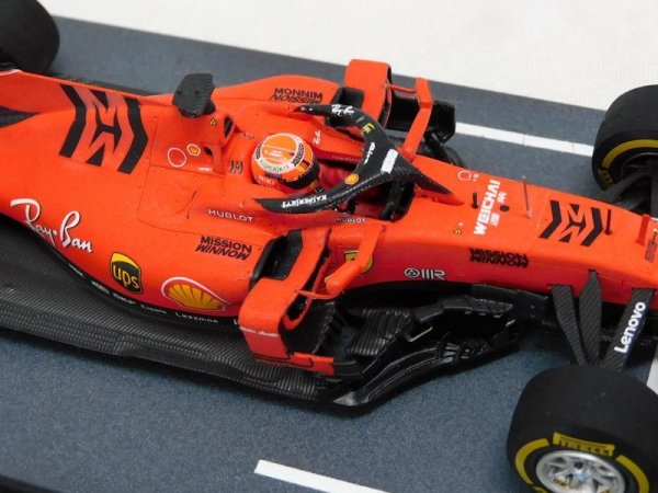 Photo1: 1/43 Ferrari SF90 MW & Japan GP LOOKSMART decal (1)
