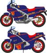 Photo1: 1/12 Suzuki RG250 & 400γ Walter Wolf decal (1)