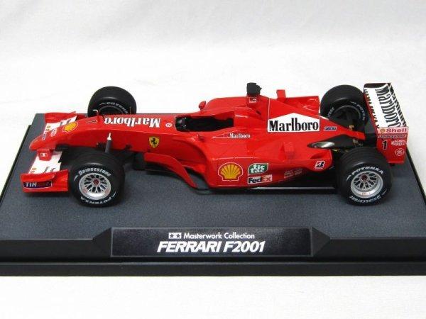 Photo1: 1/20 Ferrari F2001 Tobacco Decal (Tamiya Masterwork Compatible) (1)
