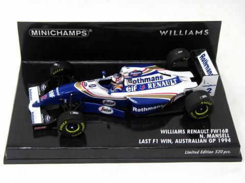 F1 decals museum collection d768 1//2 for helmet williams mclaren 1994